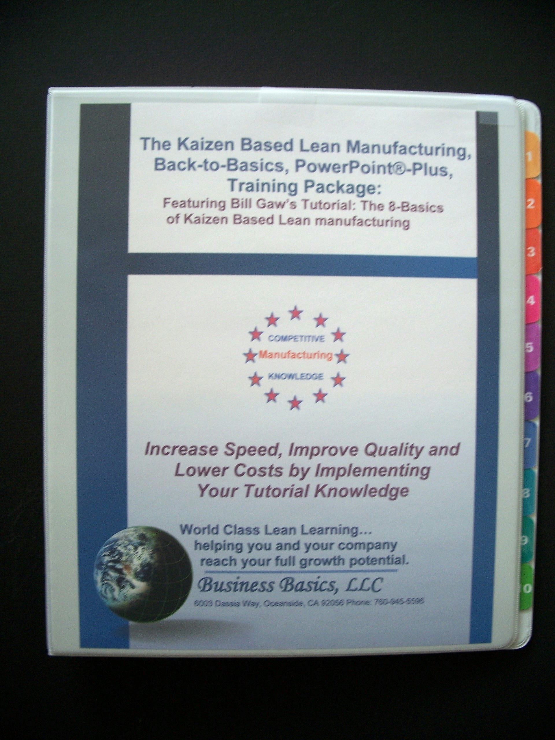 Lean Manufacturing Priciples and Techniques